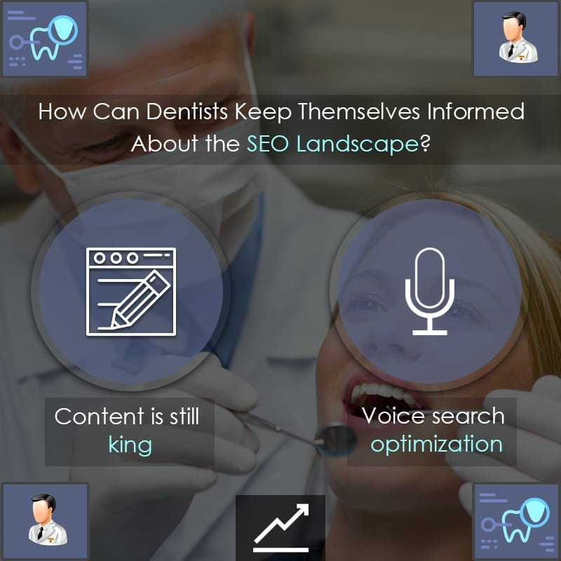 How Can Dentists Keep Themselves Informed About the SEO Landscape?