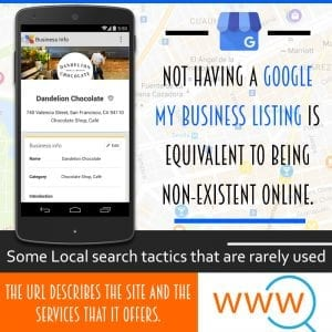 local search tactics you probably aren't using