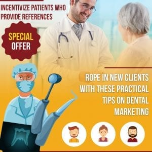 Incentivize patients who provide references