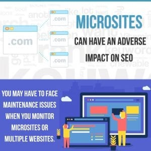 Why microsites are bad for SEO