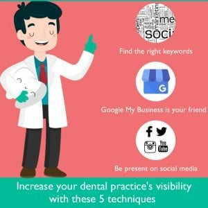 Increase Your Dental Practice's Visibility With These 5 Techniques